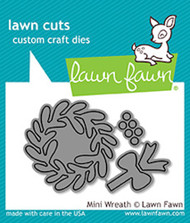 Lawn Fawn Lawn Cuts - Mini Wreath (LF1496)