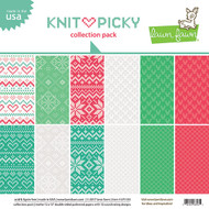 Lawn Fawn Knit Picky Paper Pack 12 x 12 (LF1530)