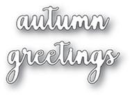 Memory Box Die- Autumn Greeting Craft Die