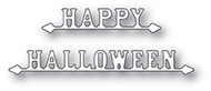 Poppystamp Die - Happy Halloween Signs Craft Die