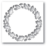 Poppystamp Die - Leafy Wreath Collage Craft Die