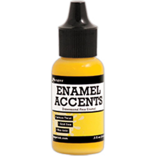 Ranger Ink Enamel Accents .5 oz - Lemon Twist (GAC48930)