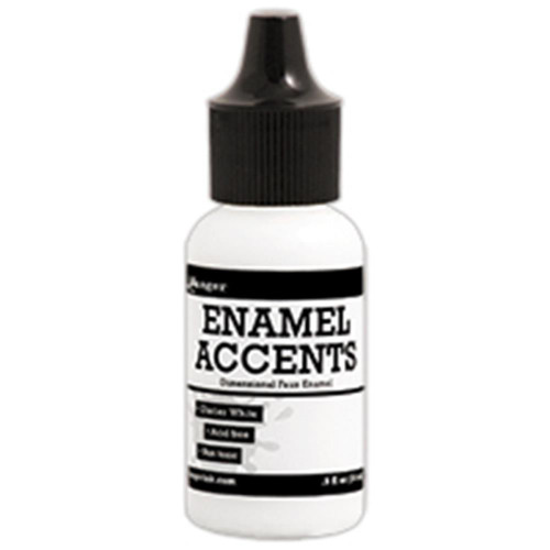 Ranger Ink Enamel Accents .5 oz - Glacier White (GAC48978)