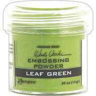Ranger - Wendy Vecchi Embossing Powder .63oz - Leaf Green (WEP 48046)
