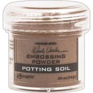 Ranger - Wendy Vecchi Embossing Powder .63oz - Potting Soil (WEP 48053)