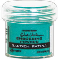 Ranger - Wendy Vecchi Embossing Powder .63oz - Garden Patina (WEP 49053)