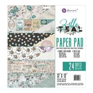 Prima Marketing - Zella Teal 12 x 12 Paper Pad (PM-595463)