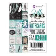 Prima Marketing - Zella Teal 3 x 4 Journaling Notecards (PM-595494)