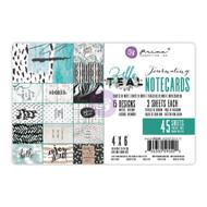 Prima Marketing - Zella Teal 4 x 6 Journaling Notecards (PM-595500)