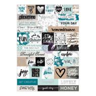 Prima Marketing - Zella Teal Stickers (PM-595586)
