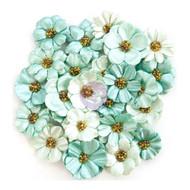 Prima Marketing - Zella Teal Flowers - Zella Dreams (ZTF 97160)