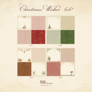 Pion Design - Christmas Wishes - 6 x 6 - Collection (PD9900)