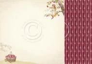 Pion Design - Summer Falls Into Autumn - 12 X 12 - Plum Garden (PD9606)