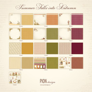 Pion Design - Summer Falls Into Autumn - 12 X 12 Collection (PD9600)