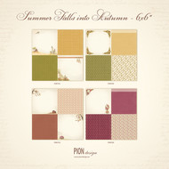 Pion Design - Summer Falls Into Autumn - 6 x 6 - Collection (PD9700)