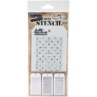 Tim Holtz Mini Layering Stencil - Set 30