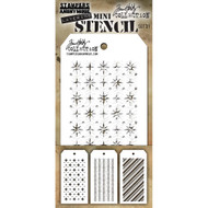 Tim Holtz Mini Layering Stencil - Set 31
