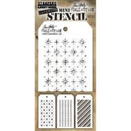 Tim Holtz Mini Layering Stencil - Set 31