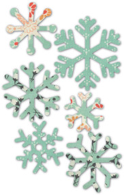 Memory Box Die- Wintry Snowflakes Craft Die