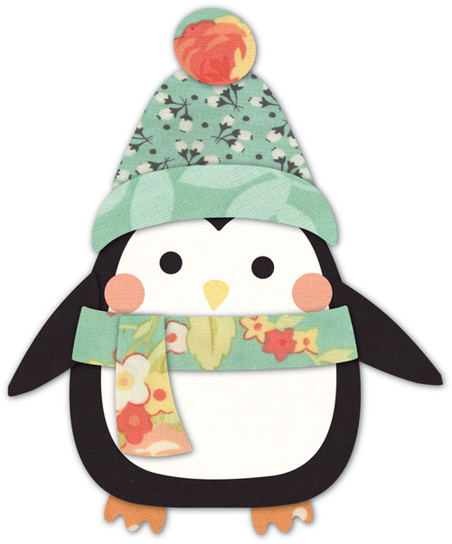 Memory Box Die- Arctic Penguin Craft Die