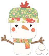 Memory Box Die- Wonderland Snowman Craft Die