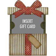 Sizzix Thinlits Dies By Tim Holtz - Gift Card Packag