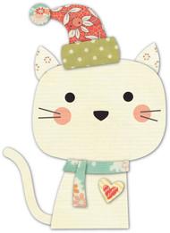 Memory Box Die - Snow Kitty Craft Die