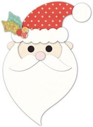 Memory Box Die - Jolly Old Santa Craft Die