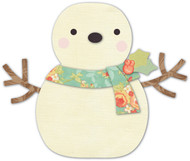 Memory Box Die - Cheering Snowman Craft Die