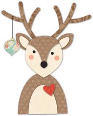 Memory Box Die - Decorated Deer Craft Die