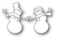 Memory Box Die - Dancing Snowmen Craft Die
