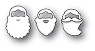 Poppystamp Die- Holiday Beards Craft Die