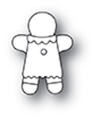 Poppystamp Die- Little Gingerbread Girl Craft Die