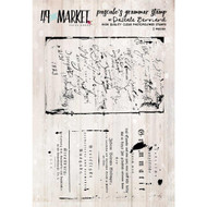 49 and Market - 3 x 4 Clear Stamps - Pascale's Grammar Stamp Set