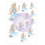 Prima Marketing Josefina Planner Sticker - Diamond Girl