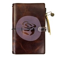 Prima Marketing Travel Journal Leather Essential - Mocha Brown