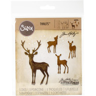 Sizzix Thinlits Dies By Tim Holtz - Winter Wonderland