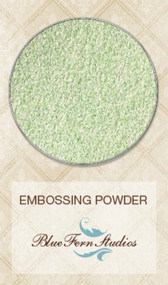 Blue Fern Studios - Embossing Powder - Green Ivory