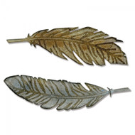 Sizzix Bigz Die By Tim Holtz - Feather Duo
