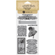 Graphic 45 - Midnight Masquerade - Cling Stamp Set 2 (ICO384)