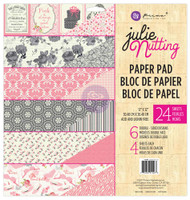 "Prima Marketing - Julie Nutting Double-Sided Paper Pad 12""X12"" 24/Pkg"