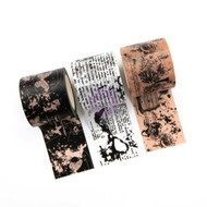 Prima Marketing Travelers Journal Decorative Tape 3 Pkg - Butterfly Love
