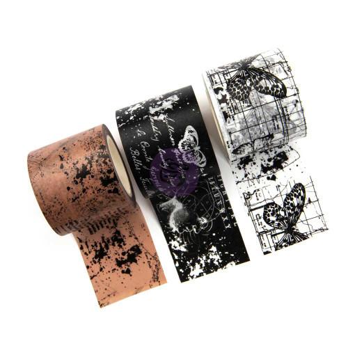 Prima Marketing Travelers Journal Decorative Tape 3 Pkg