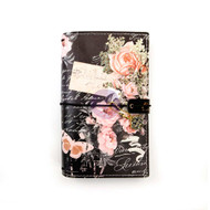 "Prima Marketing Traveler's Journal Personal Size 5""X7.5"" - Vintage Floral"