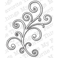 My Favorite Things FANCY FLOURISH Die-Namics Die