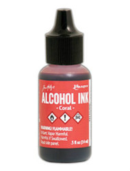 Tim Holtz Alcohol Ink - Coral 1/2 oz