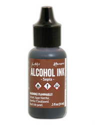 Tim Holtz Alcohol Ink - Sepia 1/2 oz