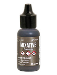 Tim Holtz Alcohol Ink - Met Mixative - Gunmetal 1/2 oz