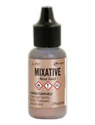 Tim Holtz Alcohol Ink - Met Mixative - Rose Gold 1/2 oz