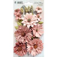 49 and Market Flowers - Vintage Shades Botanical Blends – Cerise